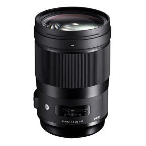 SIGMA AF 40mm f/1.4