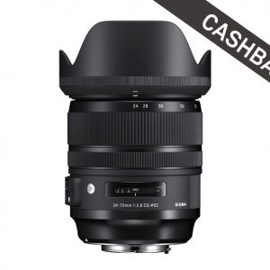 SIGMA 24-70mm F2.8 DG OS HSM Art Canon Cashback