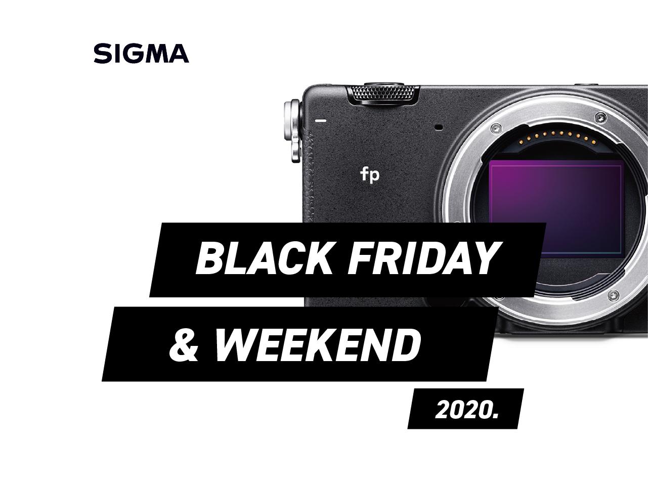 SIGMA Black Friday 2020
